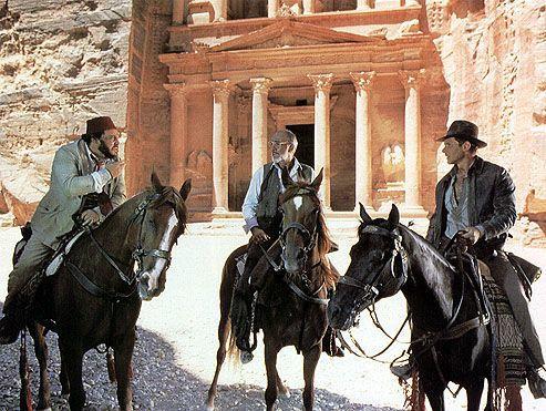 Indiana Jones in Petra, Jordan