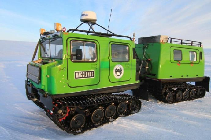 Which of these Antarctica Vehicles would you choose for your Adventure?
