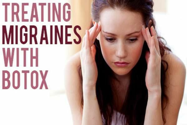 What do you think of the idea of treating migraines with botox?