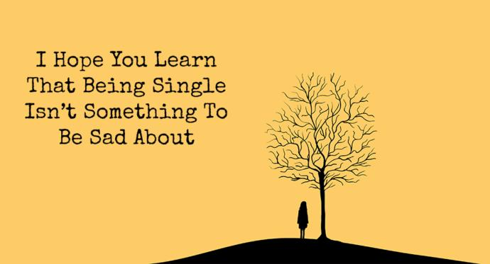 Who is more bothered by being single? Men or women?