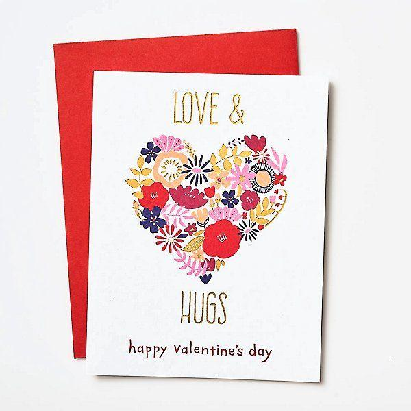 Have you received a Valentines card today?