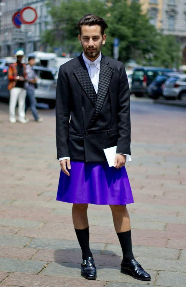 How come men don't have many fashion choices?