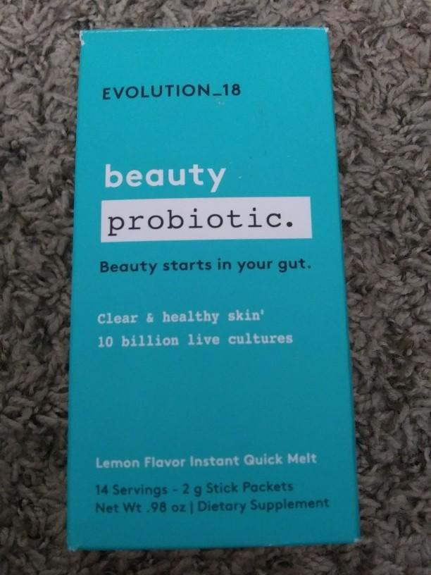 What do you think of the beauty probiotic?