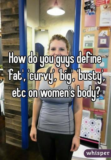 What does curvy mean?