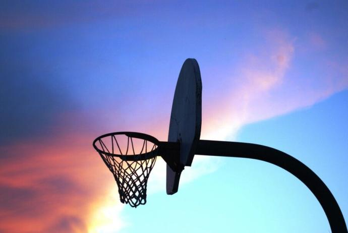 Do you play basketball with friends or by yourself?
