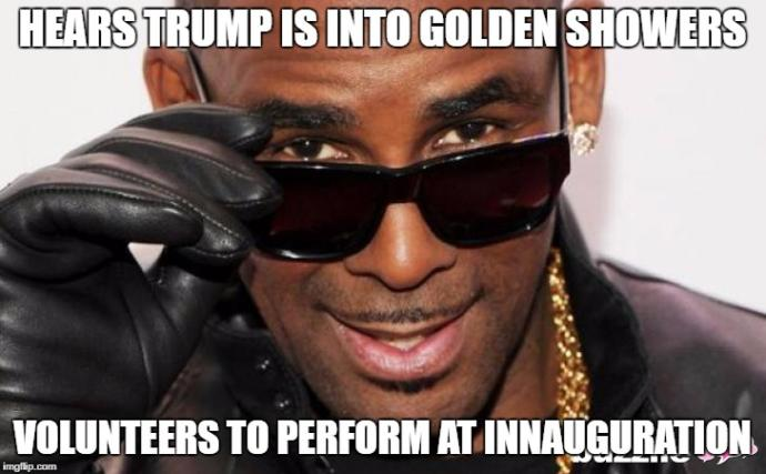 Are you into golden showers?