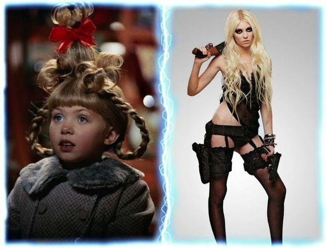 What do you think of the before and after of Cindy lou who and the teletubbies baby?