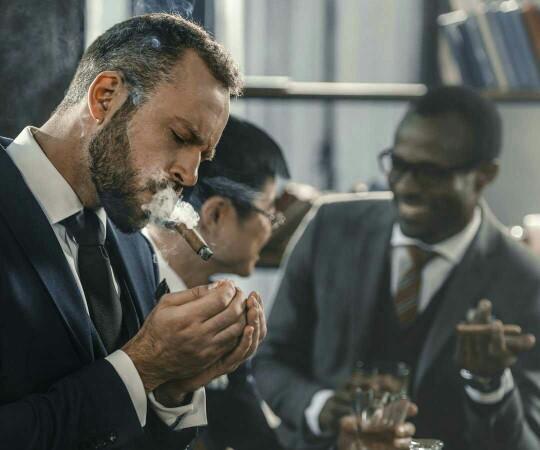 Do all guys like a good cigar?