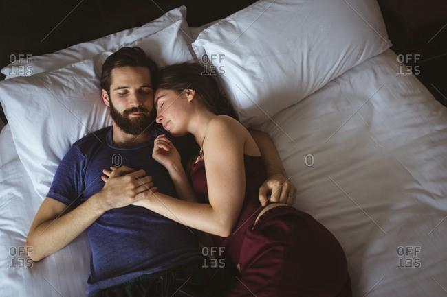 Is it weird to just want to sleep with your partner?