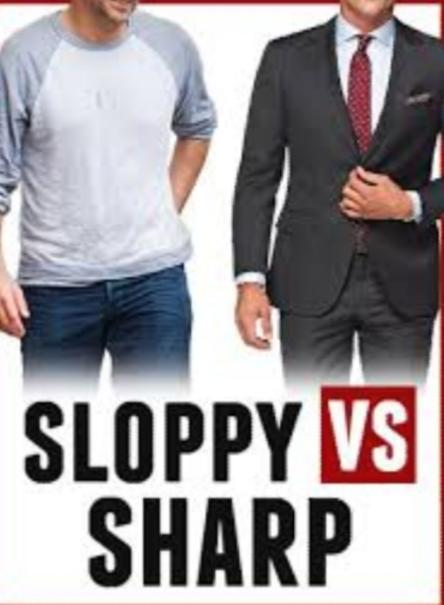 Casual or Sharp?