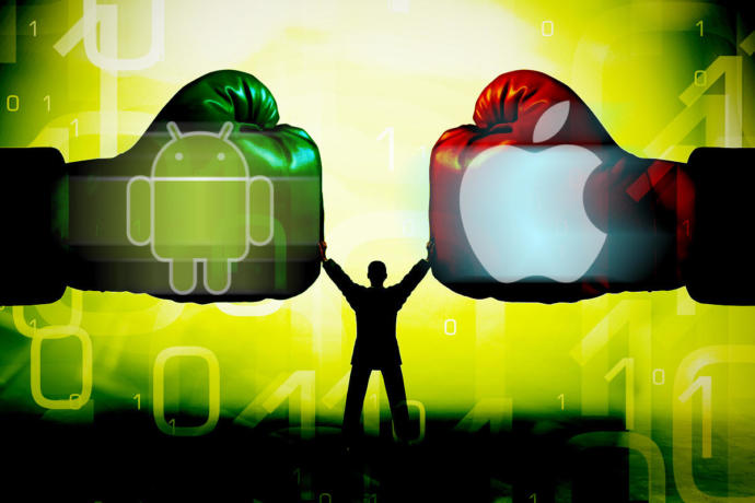 Anyone that likes and think IOS is better than Android should get their head smashed in, agree or disagree lol?