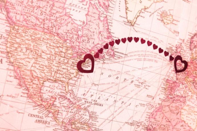What if your soulmate lives 8,000 km away?