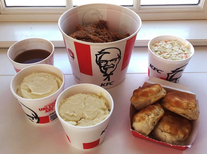 When was the last time you have had kfc?