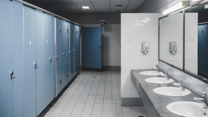 Does your penis touch the water when you use a toilet?