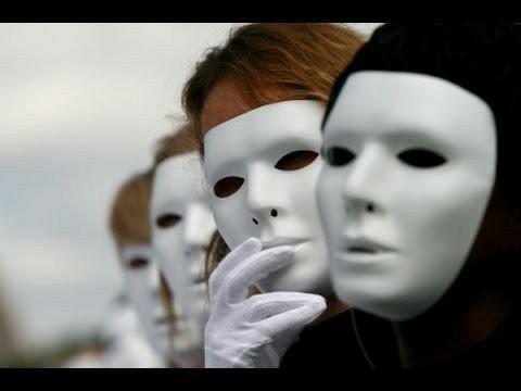 Who are you behind the mask?