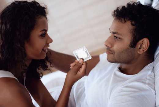 How long into a relationship do you decide not to use a CONDOM?