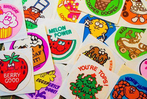 Do you remember scratch and sniff stickers from when you were a kid and what do you think of these stinky versions of them?