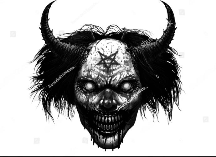 Thoughts on this dark/horror thigh tattoo?