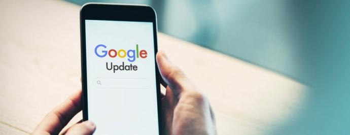 What is Googles new 2020 March update?