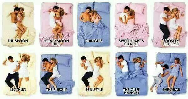 What is your favorite cuddle position?