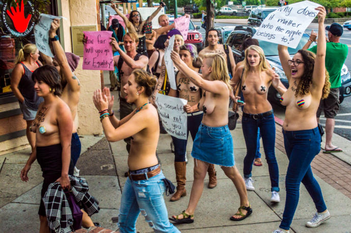 """Do you support the """"Free the Nipple"""" movement?"""