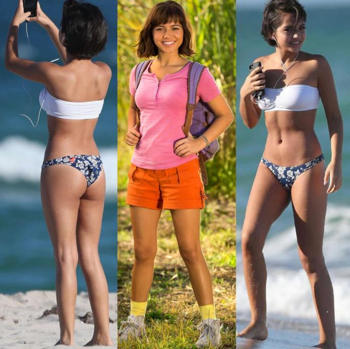 Isabela Moner is totally jerk off material. Agree?