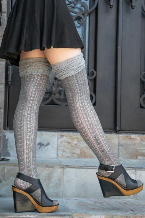 Wearing miniskirt and thigh high socks , is that trashy /not appropriate look for everyday look?