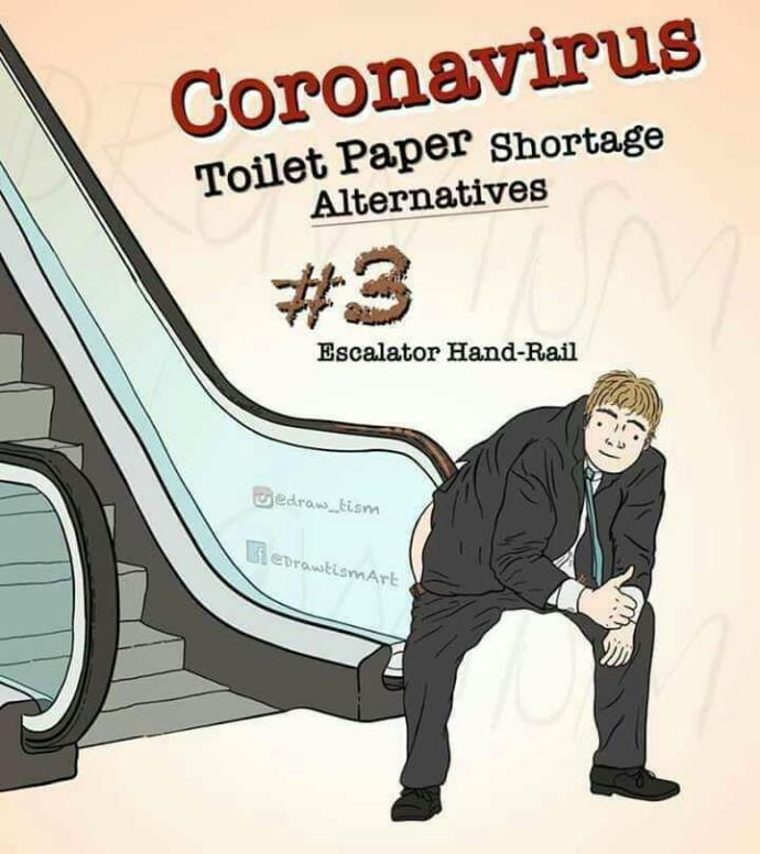 Toilet rolls are the biggest spreader of coronavirus. What will you use instead?