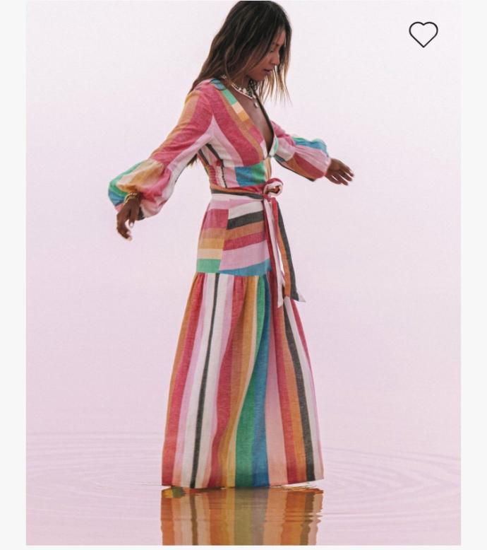What do you think of this colourful dress?