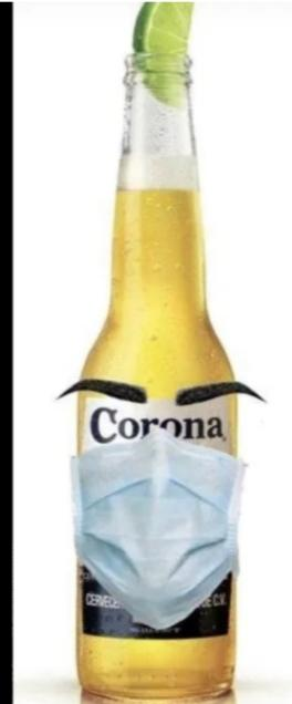 Ive had Corona, just had mine with a lime