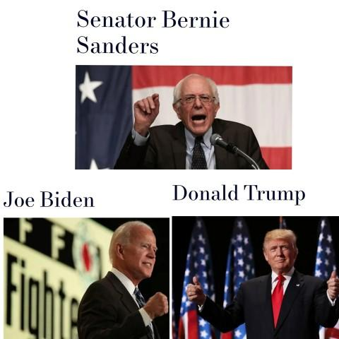 Who are you voting for in the next election?