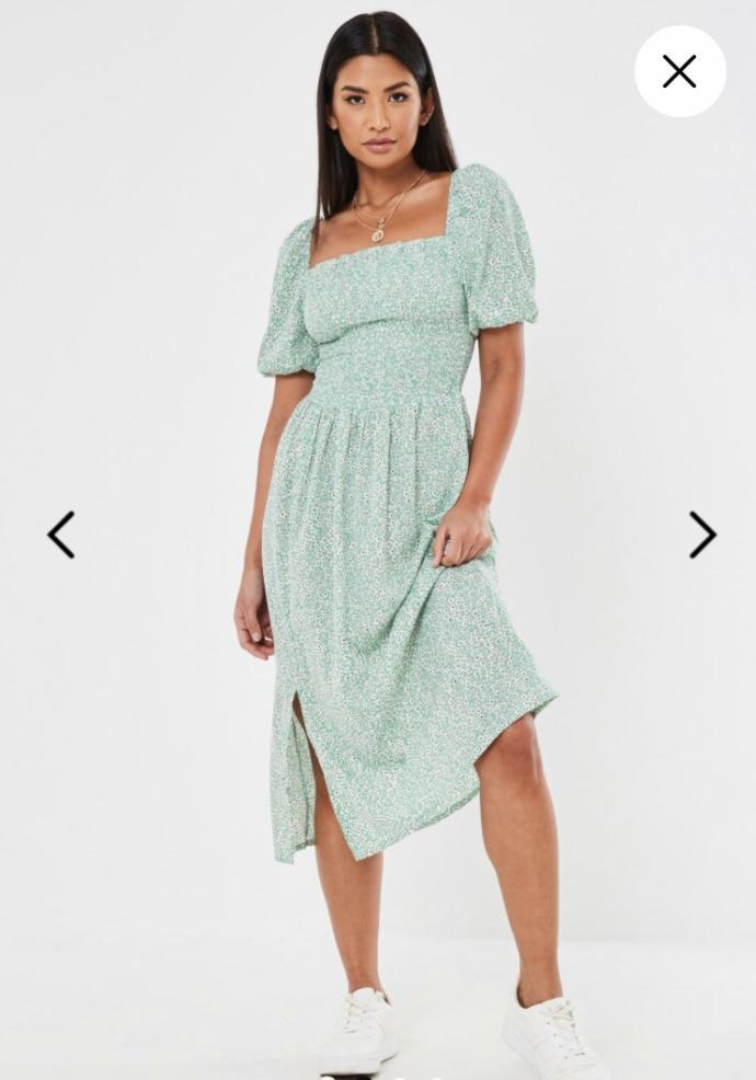 Green Dress is pretty right?