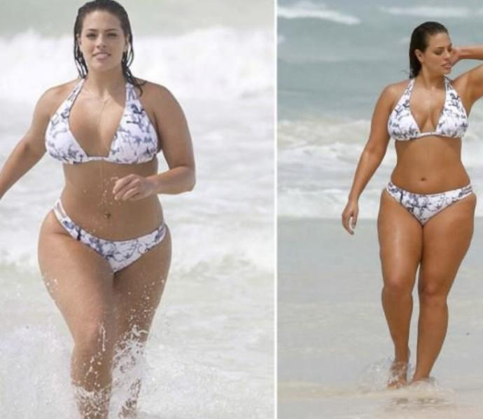 Do you think plus-sized models are unhealthy?