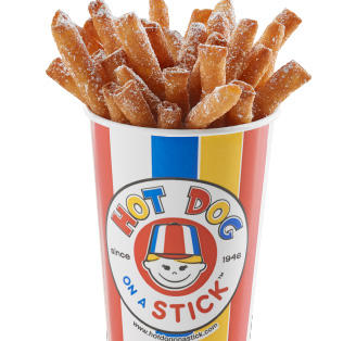 Hot Dog on a Stick: Original Menu: What would you get from another of Californias gems?