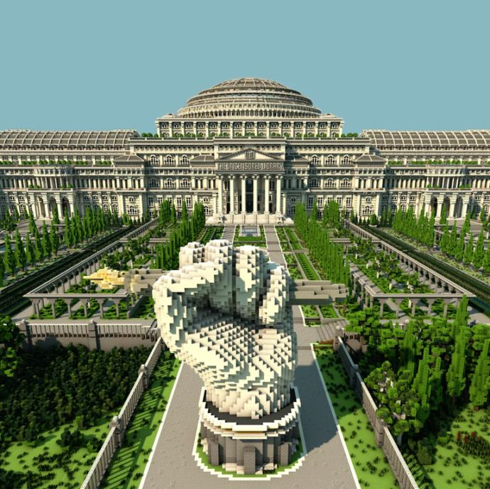 What do you think about this Minecraft Creation that World governments hate?