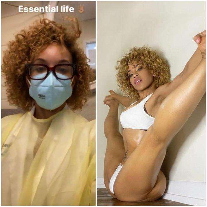Battle of the essential workers: whose hottest the Nurse practitioner or dietician?