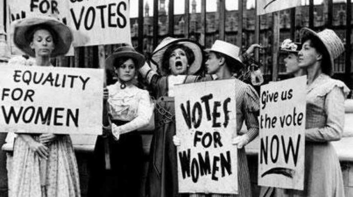 Do you support a womans right to vote for political office?