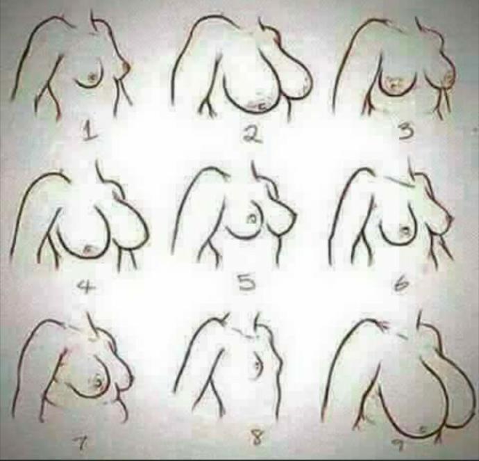 What kind of boob type u hv?