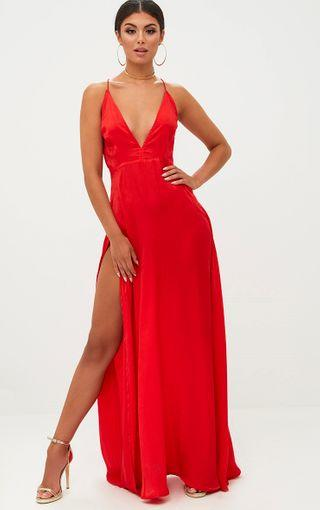 Red or pink dress?