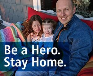 Can anyone that helps support others during this time be a covid hero?