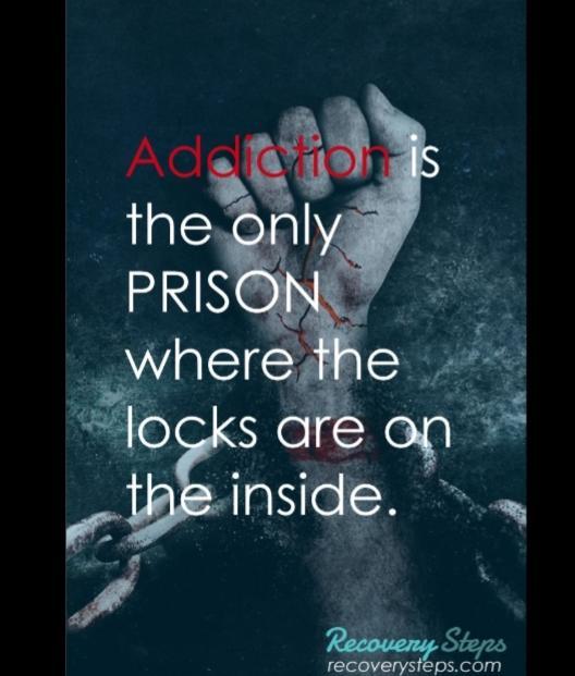 Addiction lockdown