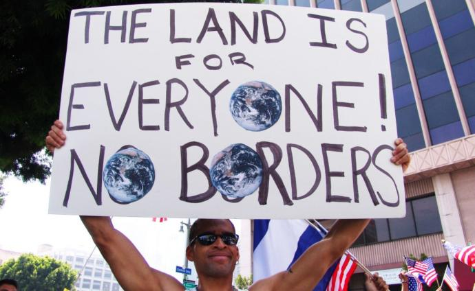 Do you or would you be in support of open borders throughout the world?