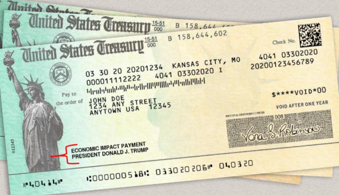 Do Trump haters deserve their stimulus check money?