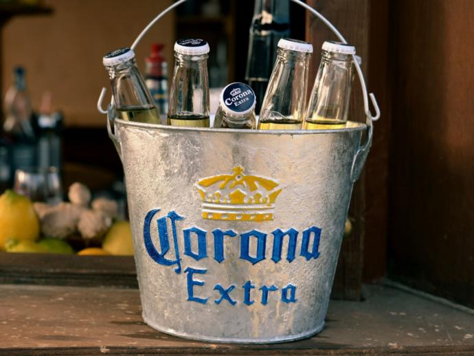 Would if the cure to the Corona Virus is to drink Corona beer would that be ironic?