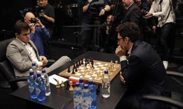 Does it shock you that the 2 best chess players in rating points played a best of 12 match in 2018 and all 12 games ended in a draw?