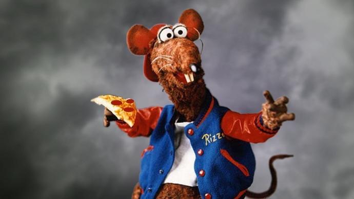 Pizza Rat in Happier Times