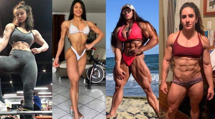 Why does the majority of men hate on muscular women 💪💪💪💪?