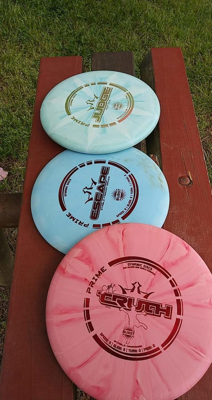 Have you ever played Disc golf?
