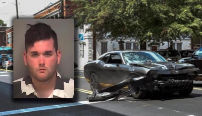 James Alex Fields, Nazi who drove car into Charlottesville anti-fascist protesters, killed one.