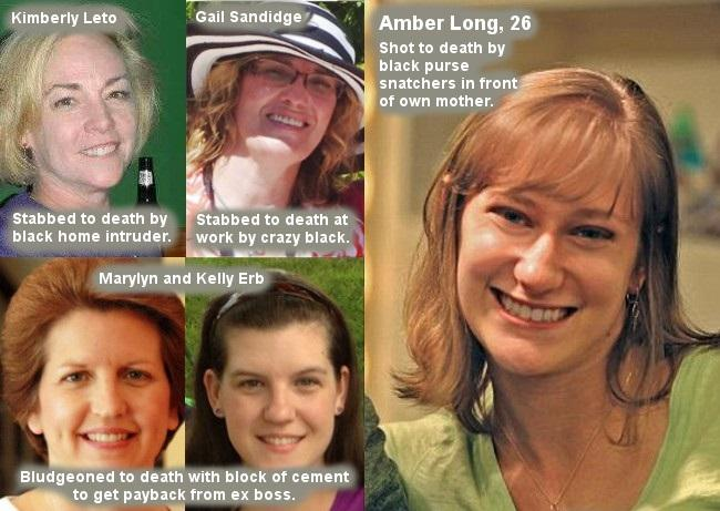 Why do people care about Ahmaud Arbery but not blacks raping and killing white women?